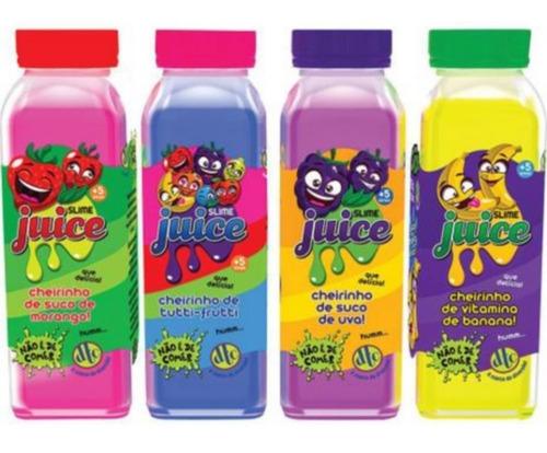 Massinha Slime Colorida Juice Suco De Frutas Cores Sortidas