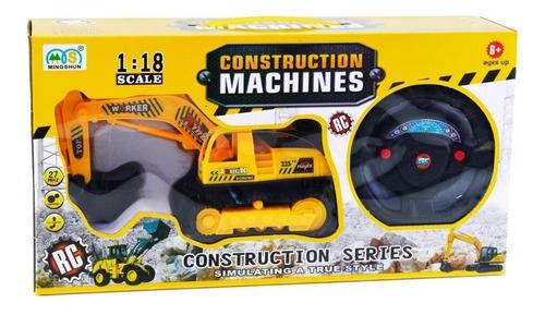Carro Caminhão De Controle Remoto Escavadeira Contrução