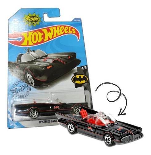 Carrinho Hot Wheels Batman Tv Series Batmobile Dc 4/5