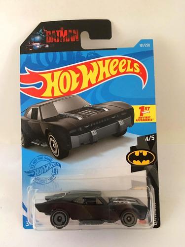 Carrinho Hot Wheels Batmobile Batman 2021 - Robert Pattinson