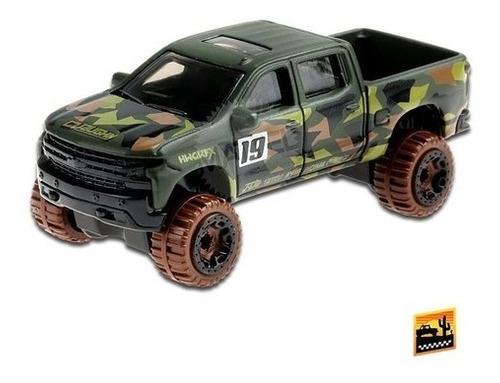 Carrinho Hotwheels Mattel Chevy 19 Silverado Trail Boss Lt