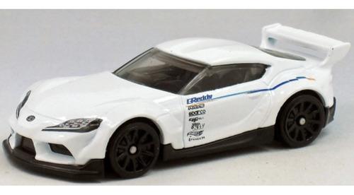 Carrinho Hot Wheels - 20 Toyota Gr Supra Branco Edição 2021