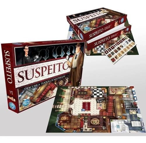 Jogo Suspeito Descubra Todos Os Mistérios Detetive