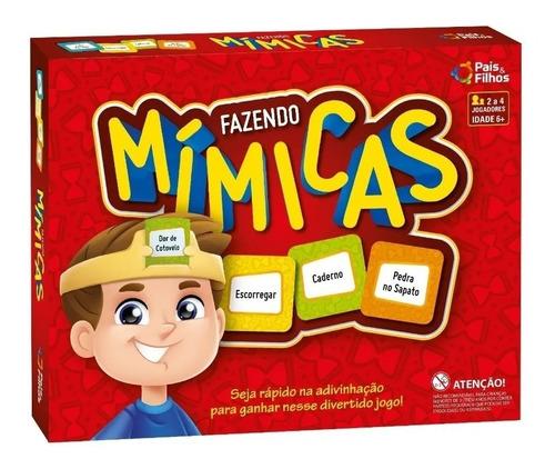 Jogo Fazendo Mimicas - Diversão Pra Toda A Familia