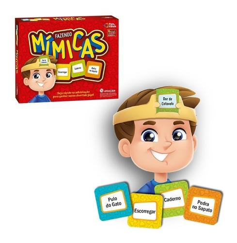 Jogo Fazendo Mimicas - Pra Toda A Familia - Pais E Filhos