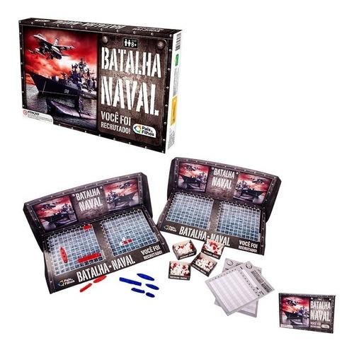 Jogo Batalha Naval Você Foi Recrutado Tabuleiro Estratégico