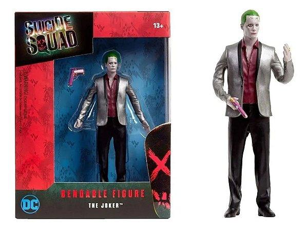 Coringa Esquadrão Suicida Dobrável Bendable Figure The Joker