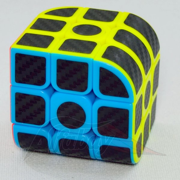 JieHui 3x3x3 Carbon Stickerless