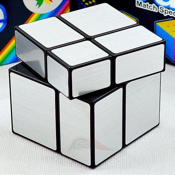FanXin Mirror Block 2x2x2 Prateado