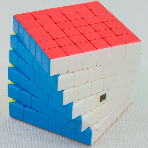 Moyu MeiLong 6x6x6 Stickerless