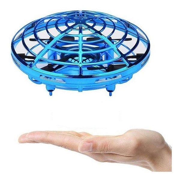Drone UFO com Luz Voo por Sensor Candide