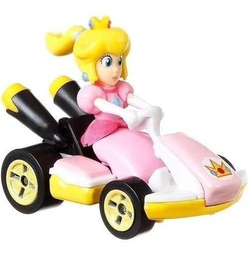 Carrinho Hot Wheels - Mario Kart - Princesa Peach