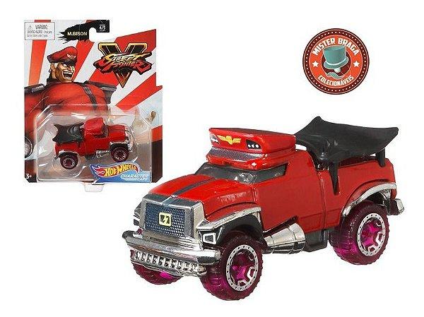 Hot Wheels Veiculo Street Fighter Carro M.bison Mattel