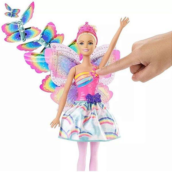 Barbie - Fada Asas Voadoras - Voa De Verdade - Mattel