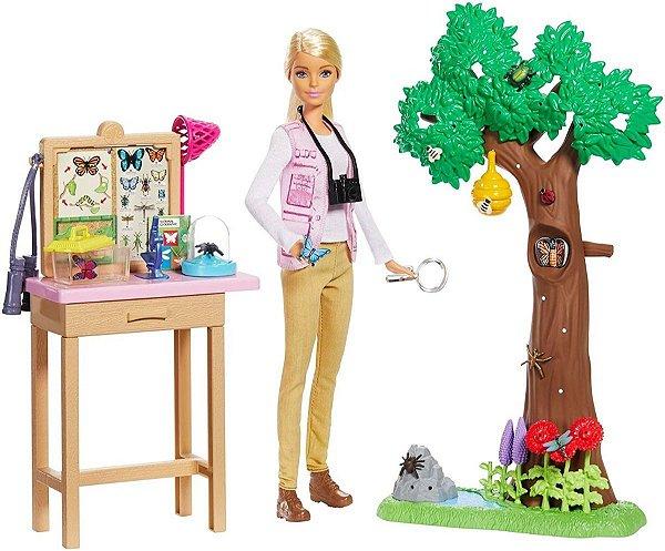 Barbie National Geographic Entomologista Insetos 2020 - Edição Incrível
