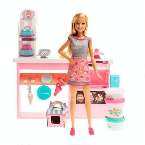 Barbie Cozinha Chef Dos Bolinhos Doces Mattel