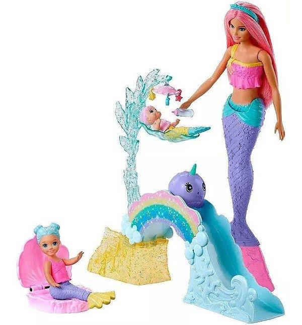 Barbie Dreamtopia - Escola De Sereias Magica - Com Mini Sereia Magicas  Mattel
