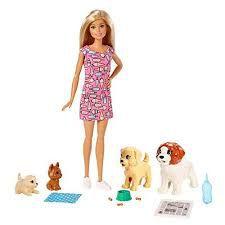 Barbie Dog Day Care Treinadora De Cachorrinhos
