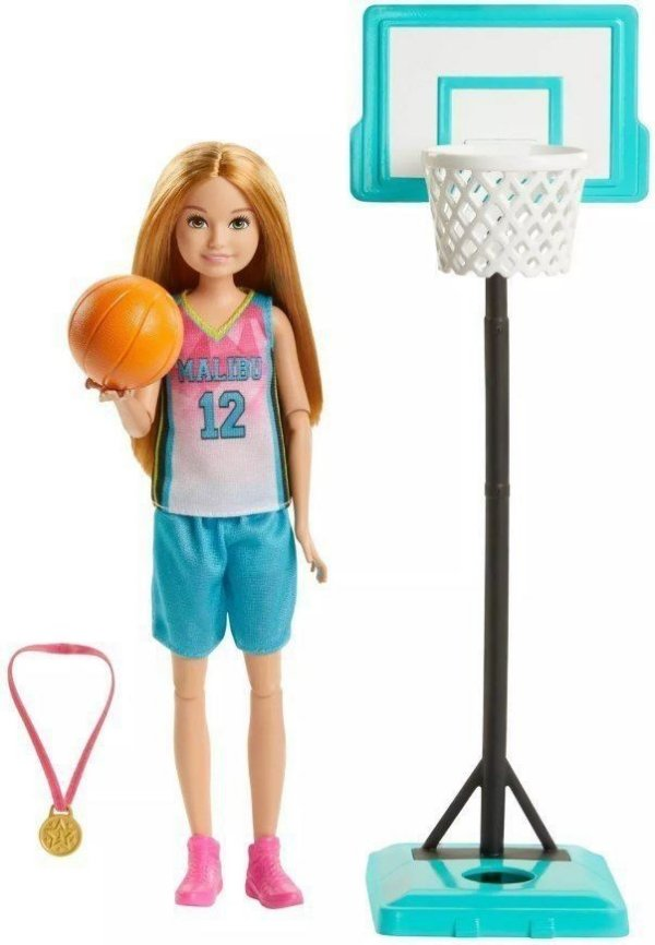 Barbie Stacie Jogadora De Basquete Dreamhouse Adventures