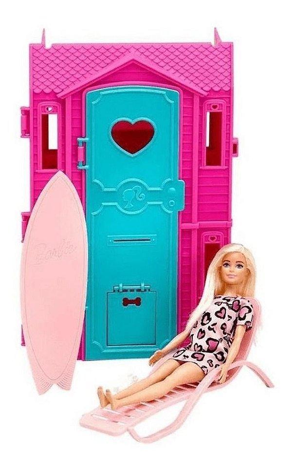 Barbie Surf Studio Da Barbie Com Boneca Inclusa Vestido Luxo