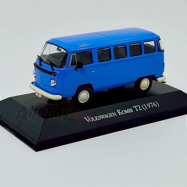 Carro Miniatura Volkswagem Kombi T2 1976 Carros Inesquecíveis do Brasil