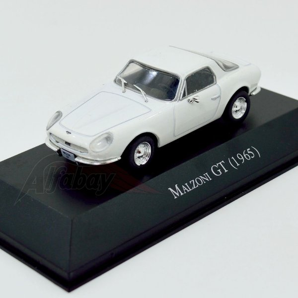Carro Miniatura Malzoni GT 1965 Carros Inesquecíveis do Brasil