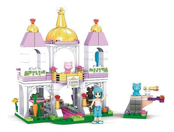 Blocos De Montar Castelo Encantado Das Fadas E Pet 228 Pcs