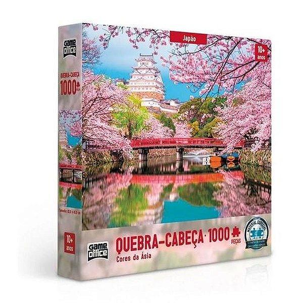 Quebra Cabeça 1.000 Peças Japão Cores da Ásia