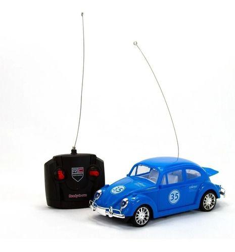 Carro RC Fusca Azul Clássico