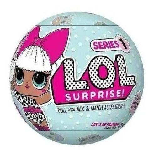 Boneca Lol Surprise Doll Serie 1 Com 7 Surpresa