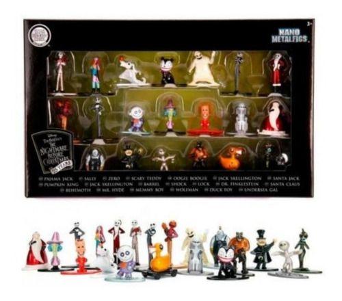 Box 20 Peças Nano Metalfigs Disney O Estranho Mundo Jack