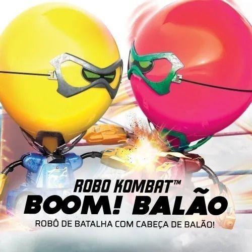 Robo Kombat Boom! Balão Com Controle Remoto