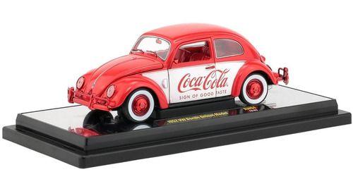 Volkswagen Fusca Beetle Deluxe Model 1952 Rw04 Coca Cola M2