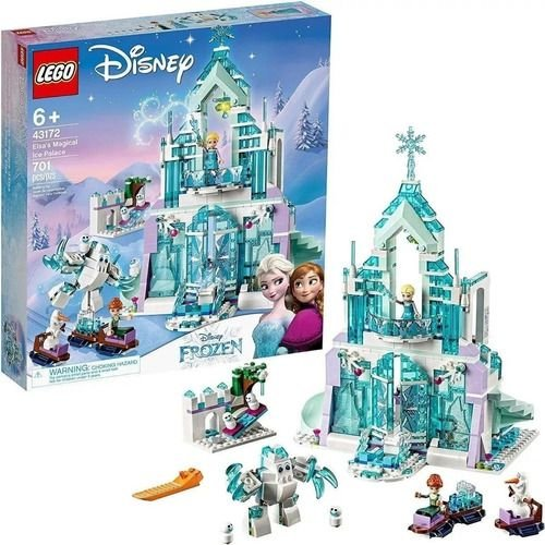 Lego Frozen - O Palácio De Gelo Mágico Da Elsa 701 Pçs