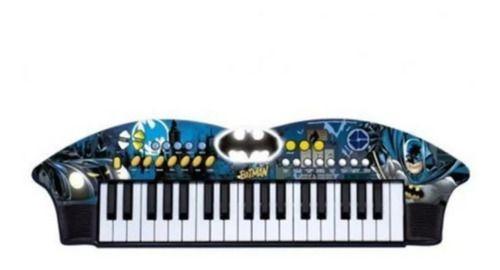 Teclado Musical Infantil Batman Cavaleiro Das Trevas