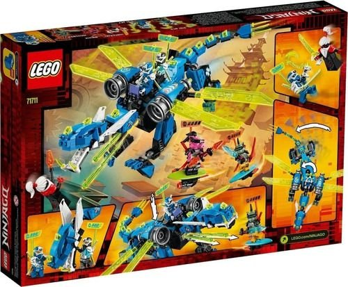Lego Original Ninjago 71711 O Ciber Dragão Do Jay 518pçs