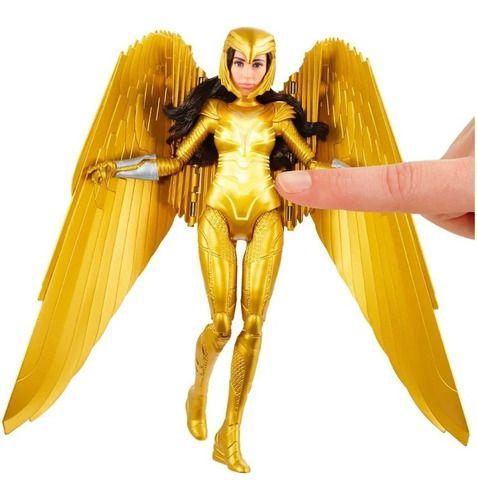 Boneca Mulher Maravilha 1984 Armadura Dourada Ww84 De Luxo