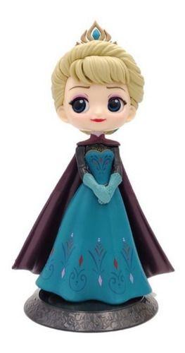 Boneca Elsa Q Posket Disney Characters Coronation Style