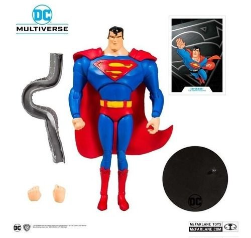 Figura Articulável Superman Dc Multiverse - Liga Da Justiça