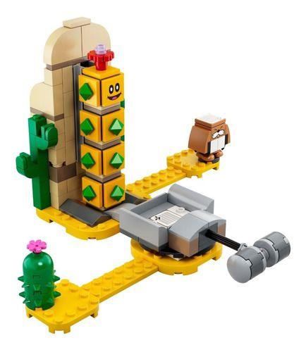Lego Super Mario Cactubola Do Deserto Expansão 180 Pcs