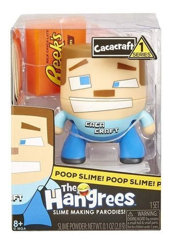 Boneco Cacacraft Poop Slime The Hangrees Series 1