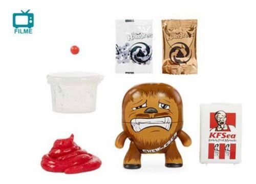 Boneco Chew Kaka Poop Slime The Hangrees Series 1