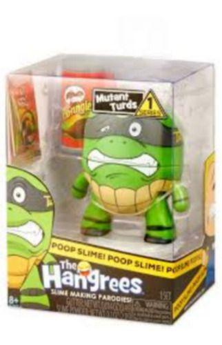 Boneco Mutant Turds Poop Slime The Hangrees Series 1
