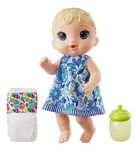 Boneca Baby Alive A Hora Do Xixi Loira Com Acessórios