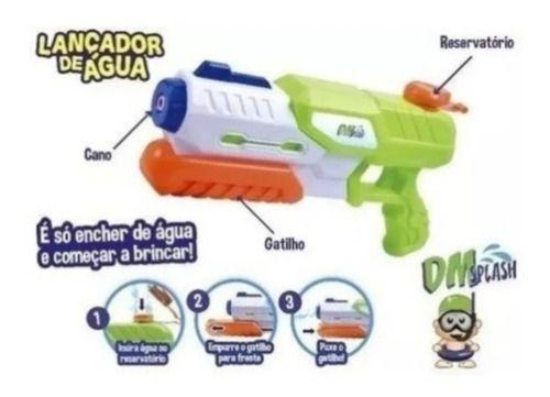 Atirador / Lançador De Água Dm Splash