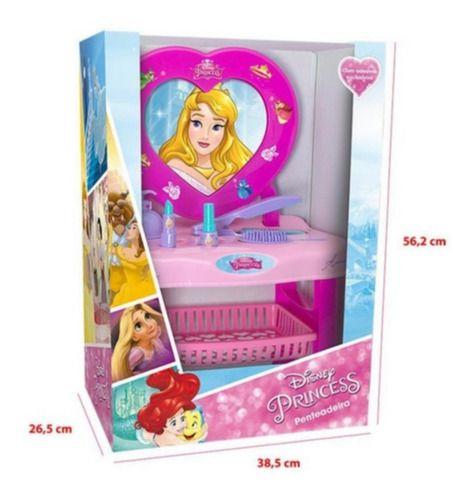 Penteadeira Infantil Acessórios Disney Princesa Aurora