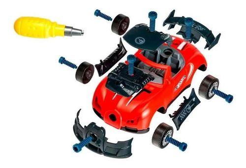 Hot Wheels Carro Tunado Monte E Desmonte