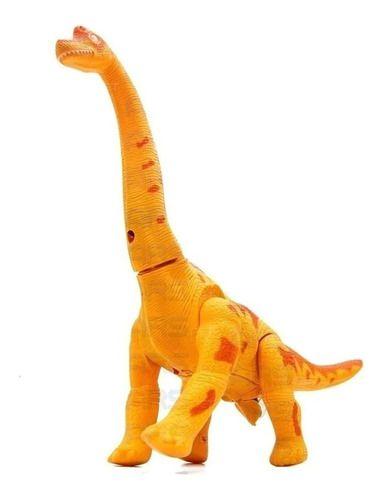Dinossauro Eletrônico Bota Ovos Anda Emite Luz Som