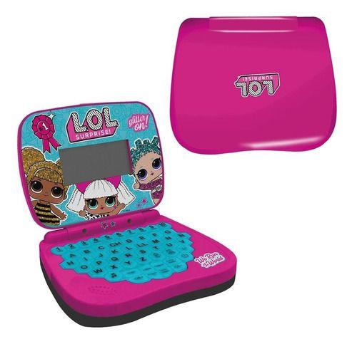 Laptop Infantil Lol Surprise Brinquedo Com Som