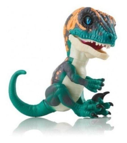 Boneco Fingerlings Untamed Dinossauro Stealth Coloridos